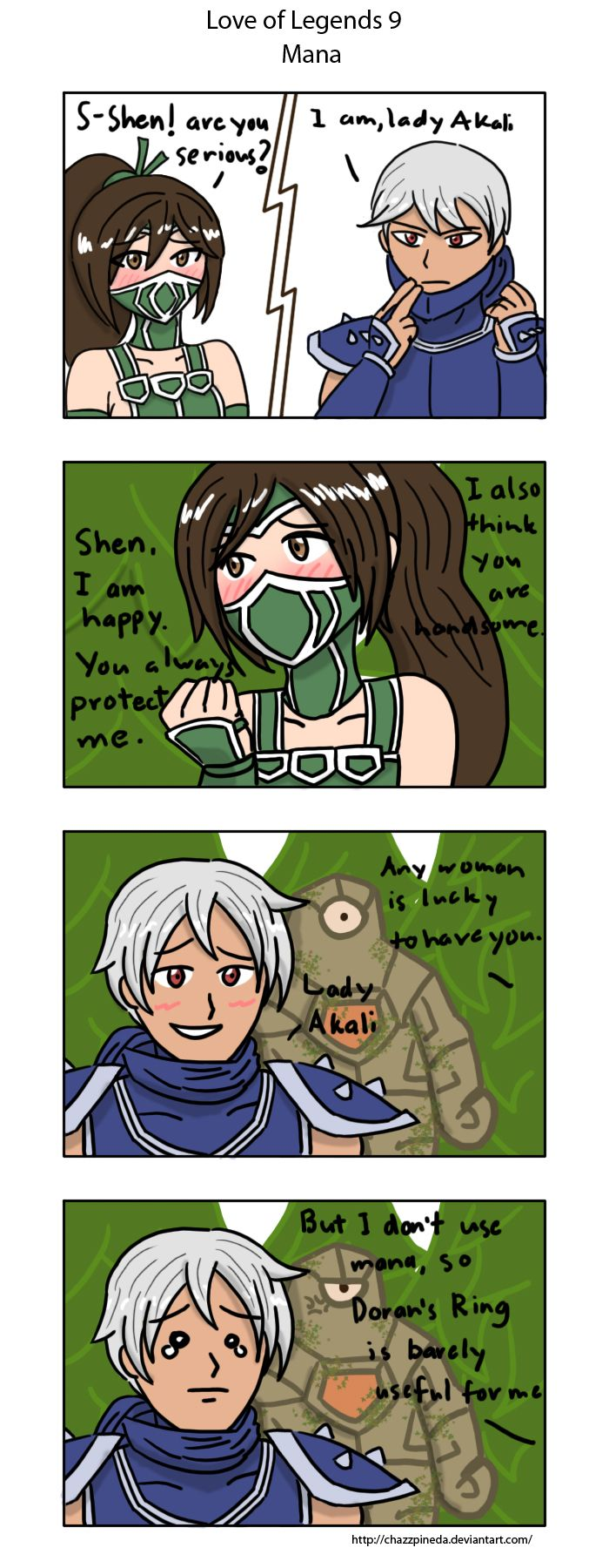 Love Of Legends 9 Mana By Chazzpineda On Deviantart Lol League Of Legends League Memes Legend