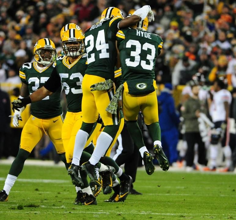 Game Photos: Packers vs. Bears 11.9.14