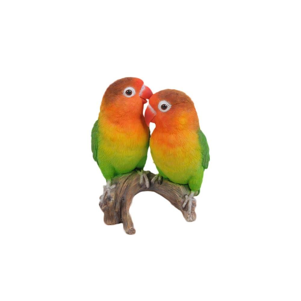 Vivid Arts REAL LIFE BIRDS Lovebirds Exotic Love Birds