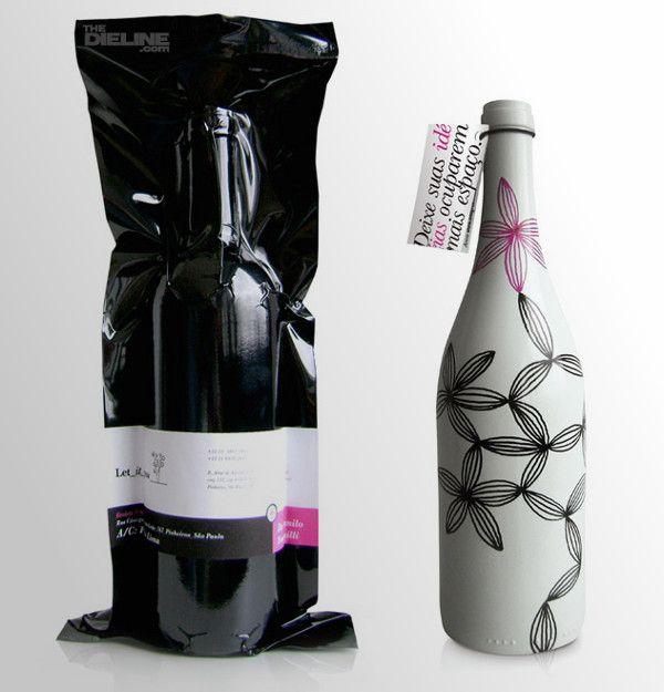 30 Creative And Unusual Wine Label Designs Etiquette Bouteille