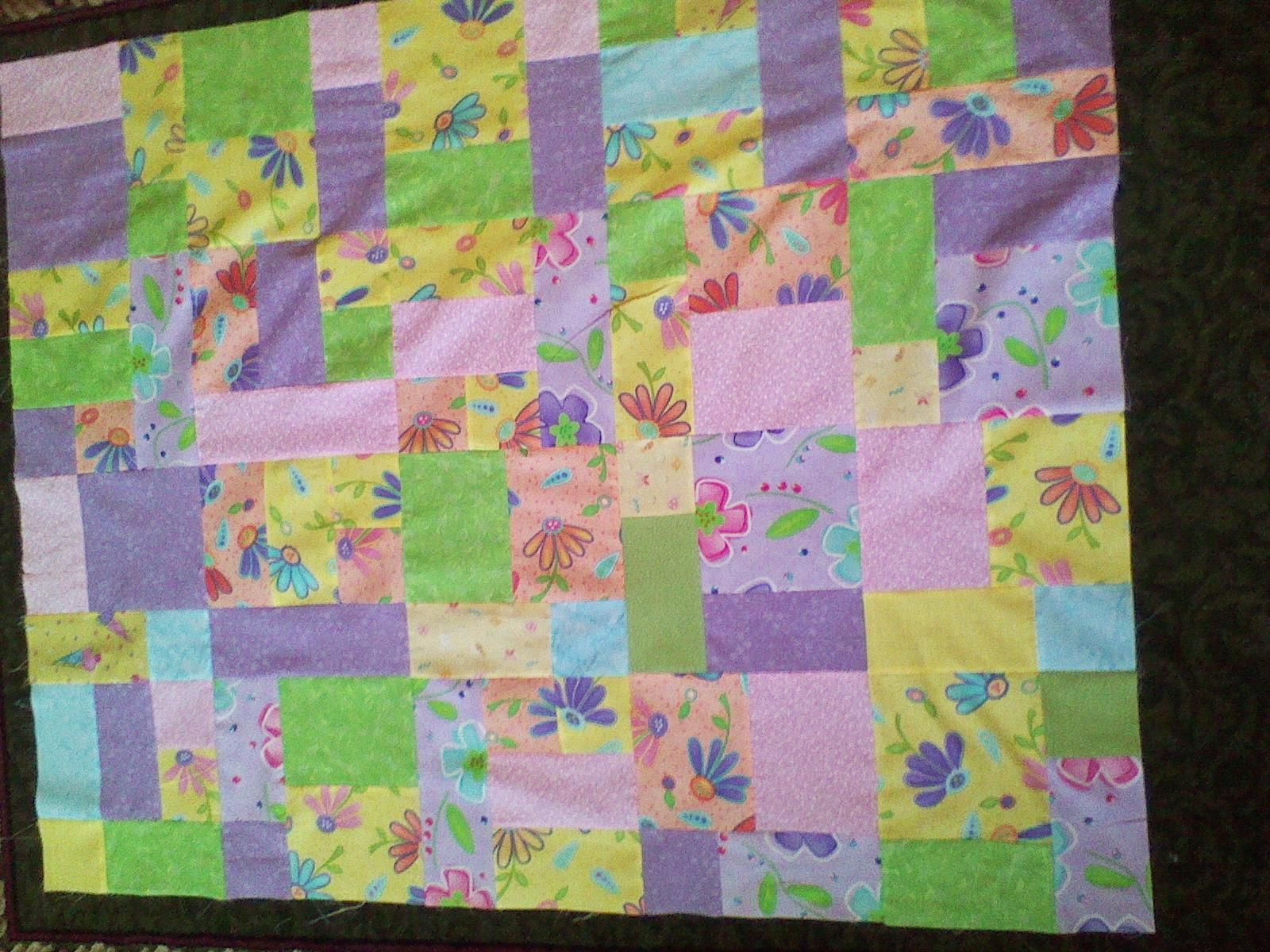 Yellow Brick Road Pattern This Quilt I Made For My Cousin S Baby