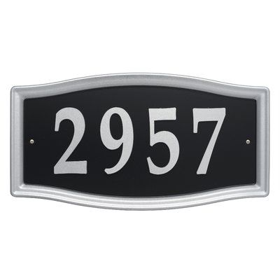 Whitehall Products Easy Street House Number