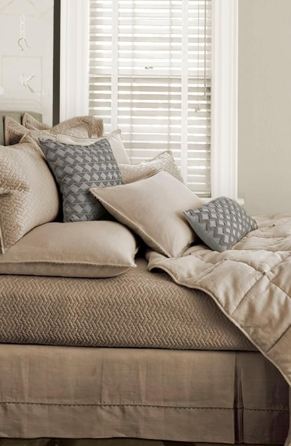 Love The Delicate Chevron Tapestry On This Bed Collection