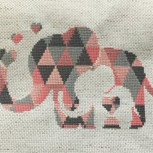 Photo of Cross Stitch Elephants Articles
