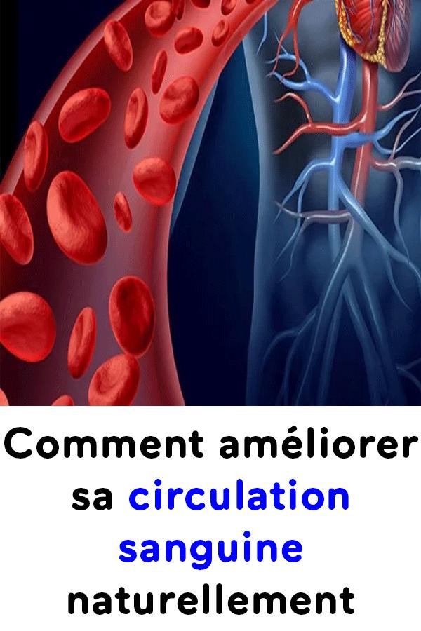 ameliorer circulation sanguine naturellement