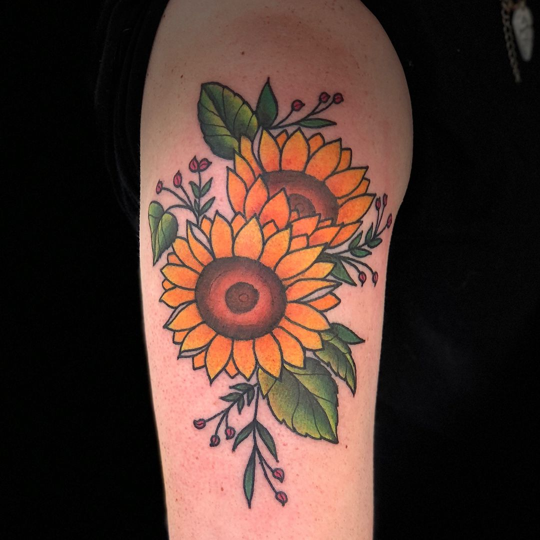 Really Fun Sunflowers Today On A Fellow Ginger Traditional