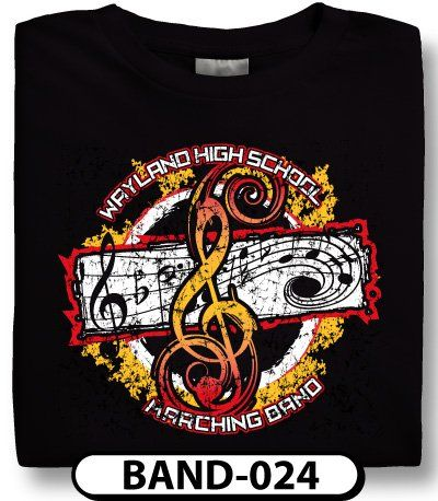 Design Custom Marching Band T-Shirts Online by Spiritwear ...