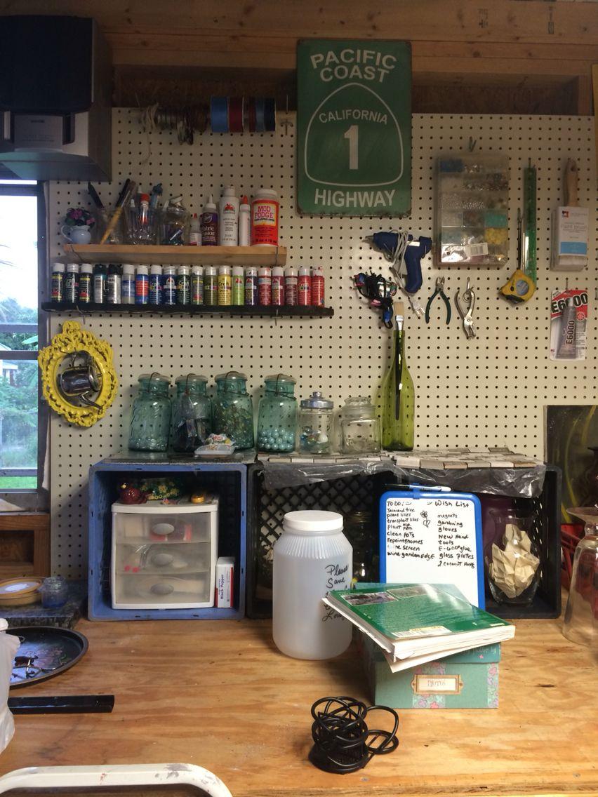 My work shop