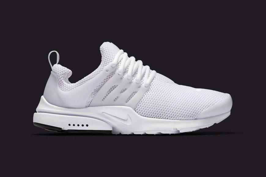Nike is Dropping an All White Air Presto Pinterest Air presto
