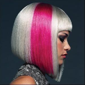 Carré plongeant. | Hairs | Pinterest | Coiffure originale, Coiffure et Cheveux platine