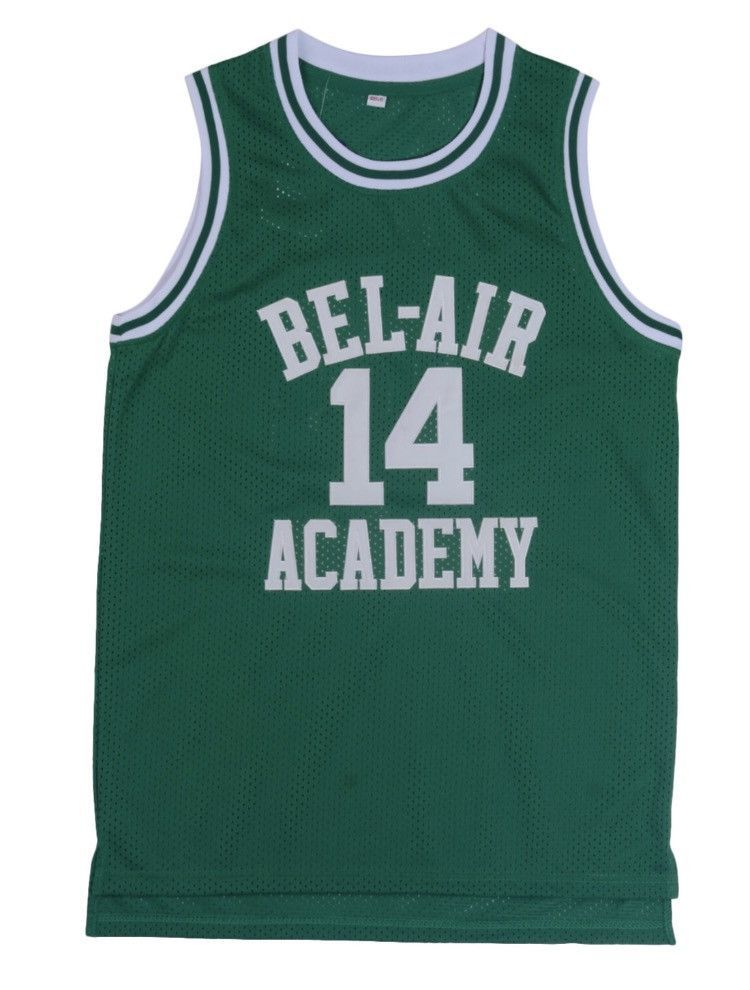 295d46ed3 Will Smith Bel-Air Academy Throwback  14 Away Alternate Jersey ...