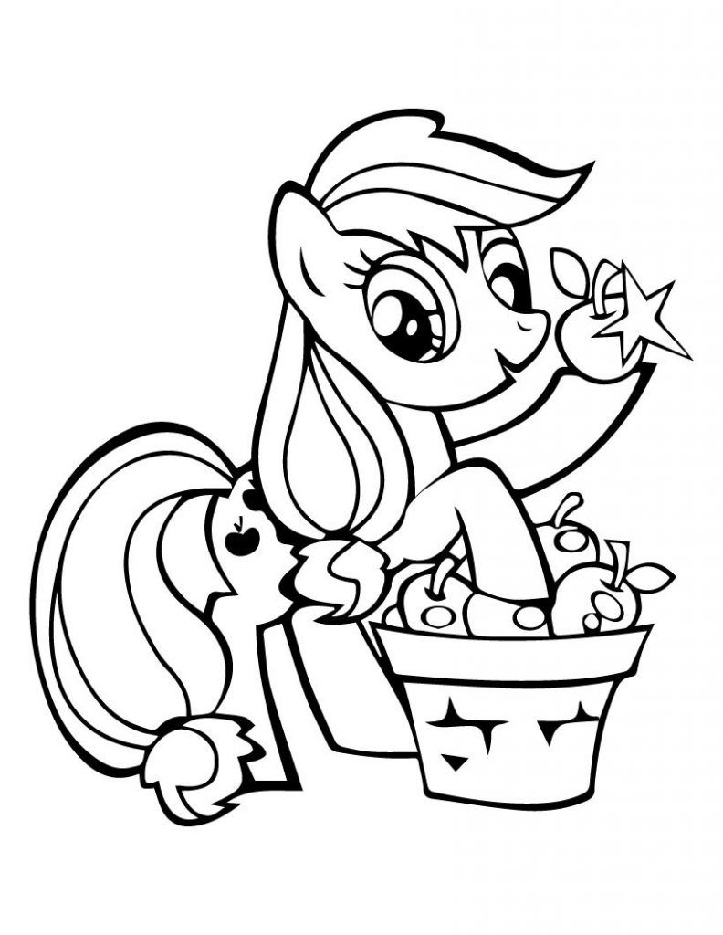 Applejack Coloring Pages Best Coloring Pages For Kids My Little Pony Coloring Cartoon Coloring Pages Horse Coloring Pages