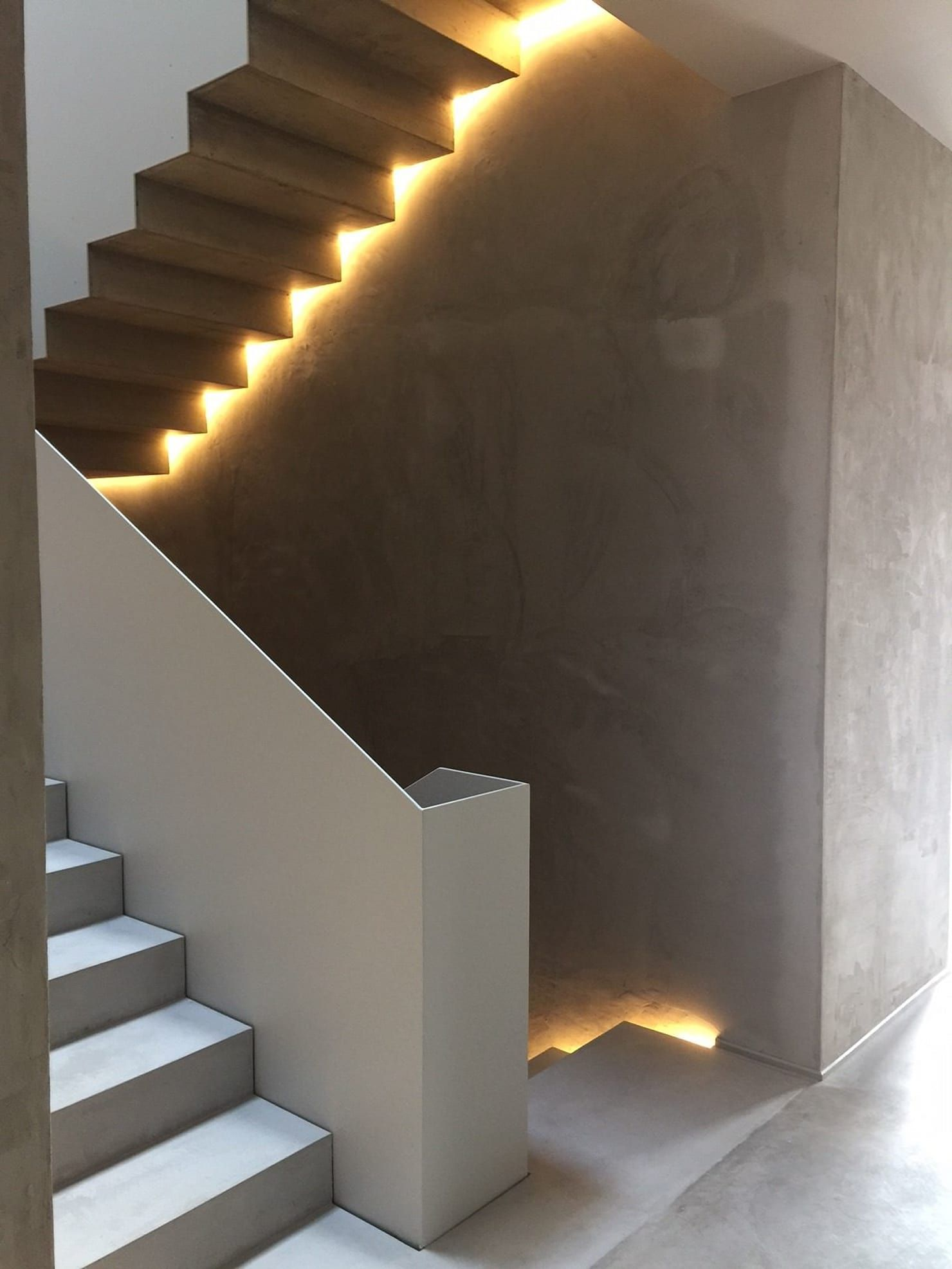 Casa Garibaldi Ingresso Corridoio Scale In Stile Moderno Di Studio Di Architettura Disegno Moderno Ringhiere Scala Scale Moderne Disegno Scala