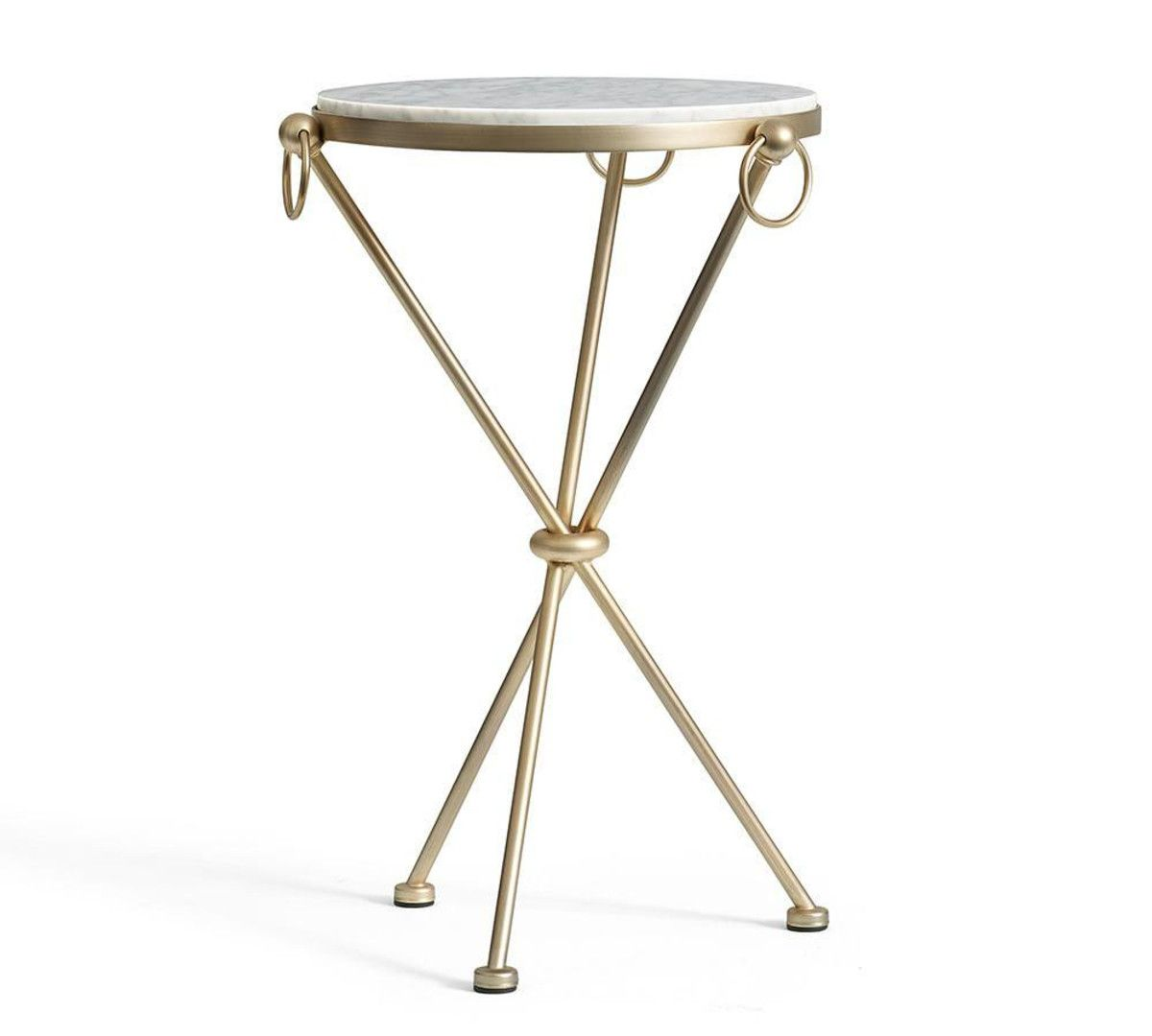 Leila Marble Top Side Table