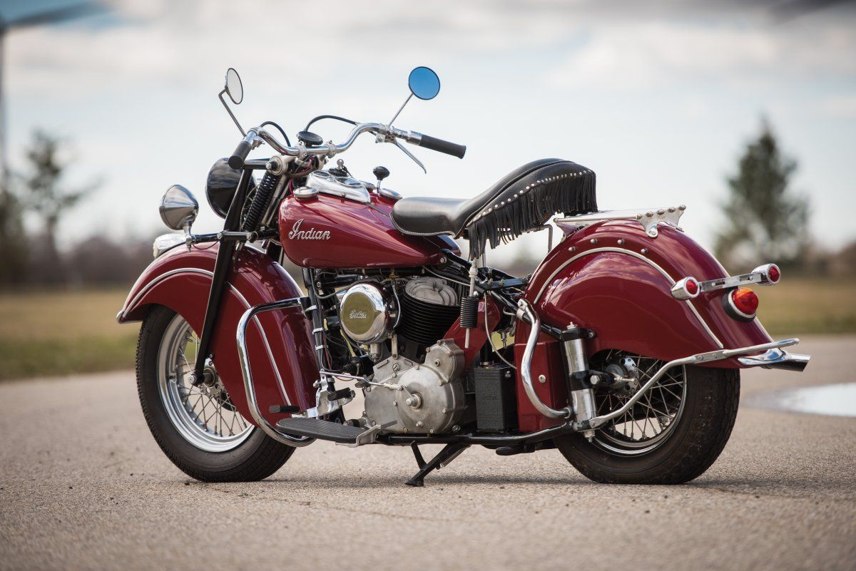 This Stunning Motorcycle From 1947 Is For Sale Indian Motorcycle Indian Motorbike Vintage Indian Motorcycles