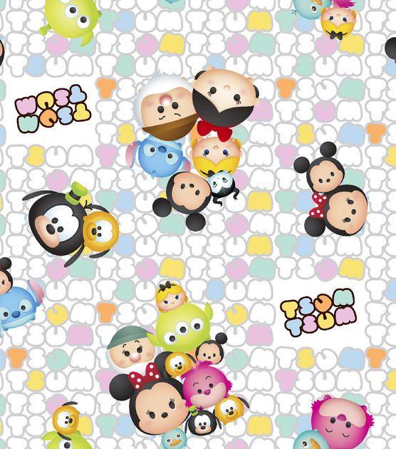 Tsum Tsum Cotton Fabric 43\