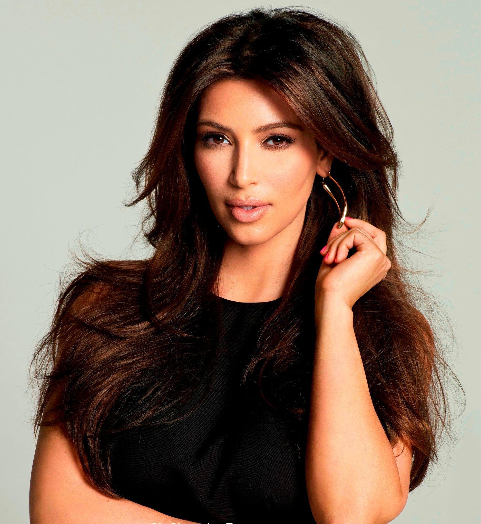 Kim Kardashian #hair #beauty   Hot hair styles, Hair ...