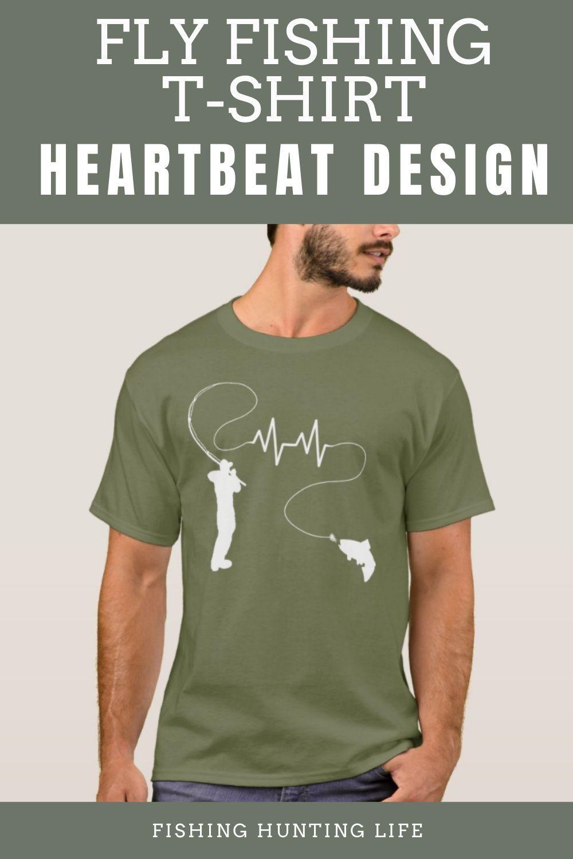 Fishing Heartbeat Fly Fishing Trout T Shirt Zazzle Com In 2021 Fishing T Shirts Fly Fishing Fishing Women
