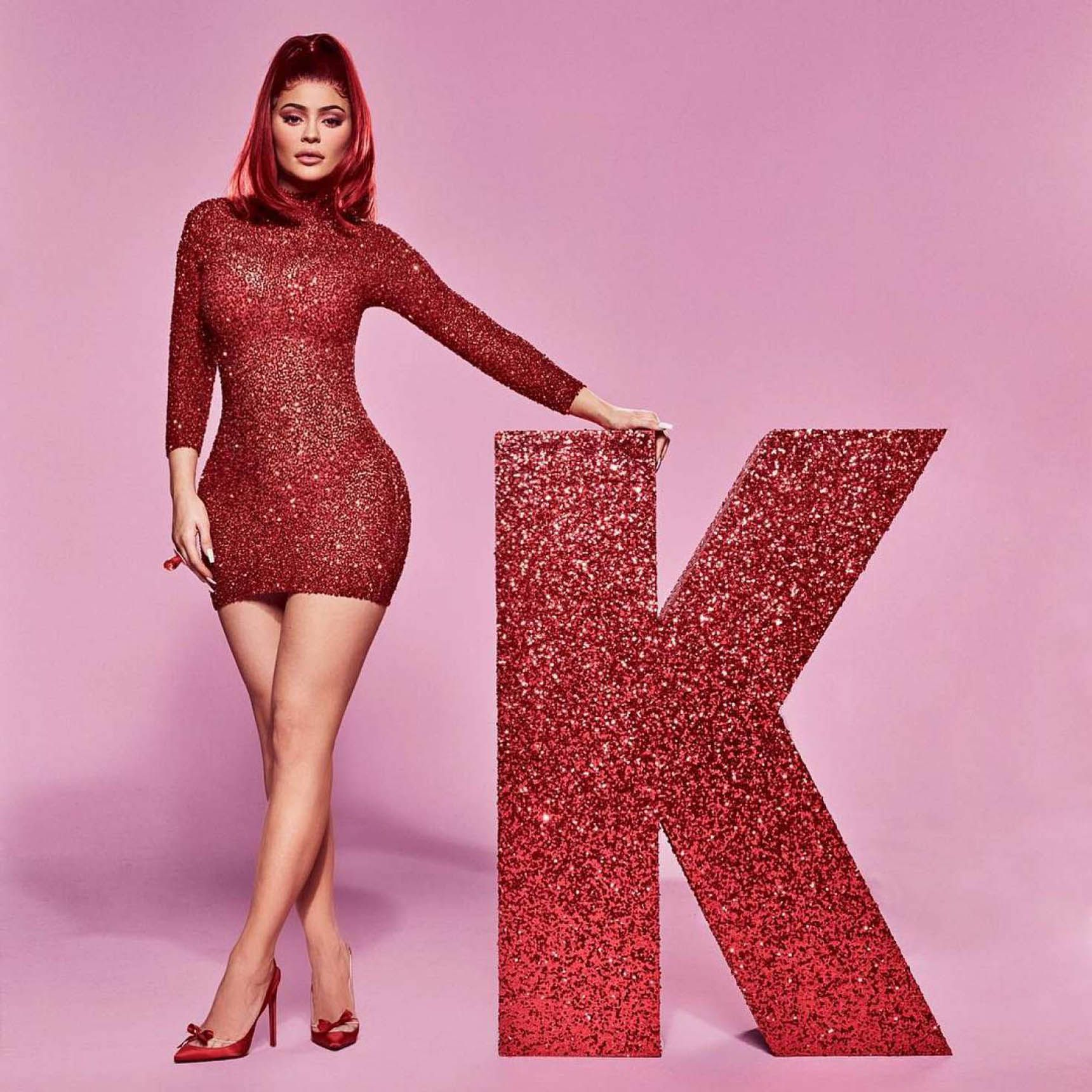 Kylie Jenner latex dress. 2018-2019 celebrityes photos leaks! new photo