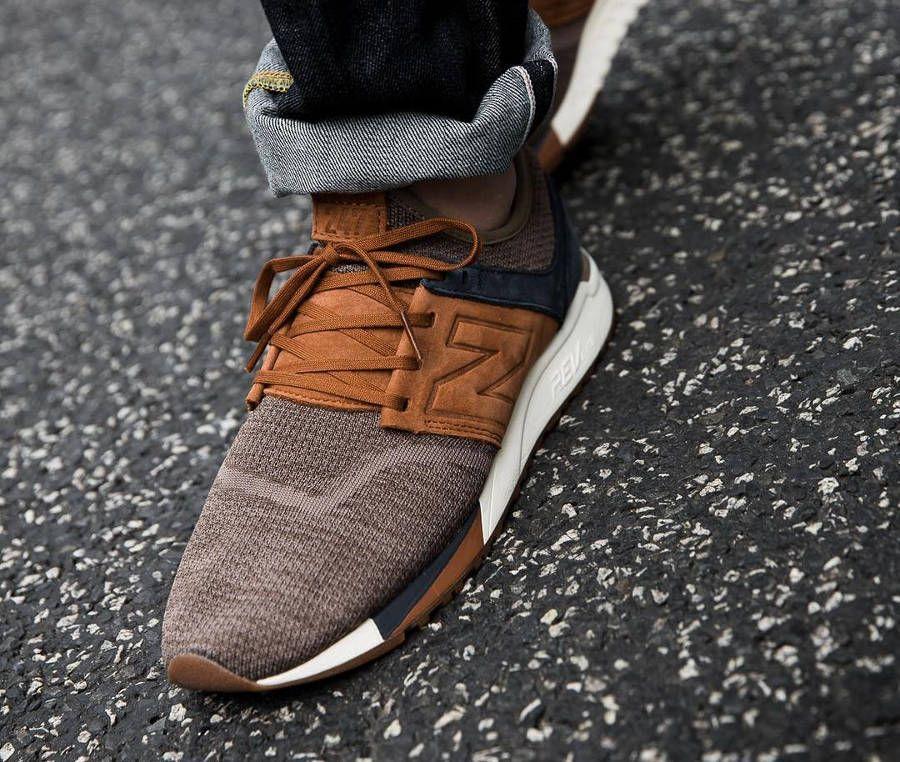 chaussure new balance homme marron
