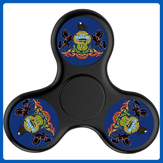 New Style Pennsylvania Flag Fid Spinner Anxiety Attention Toy
