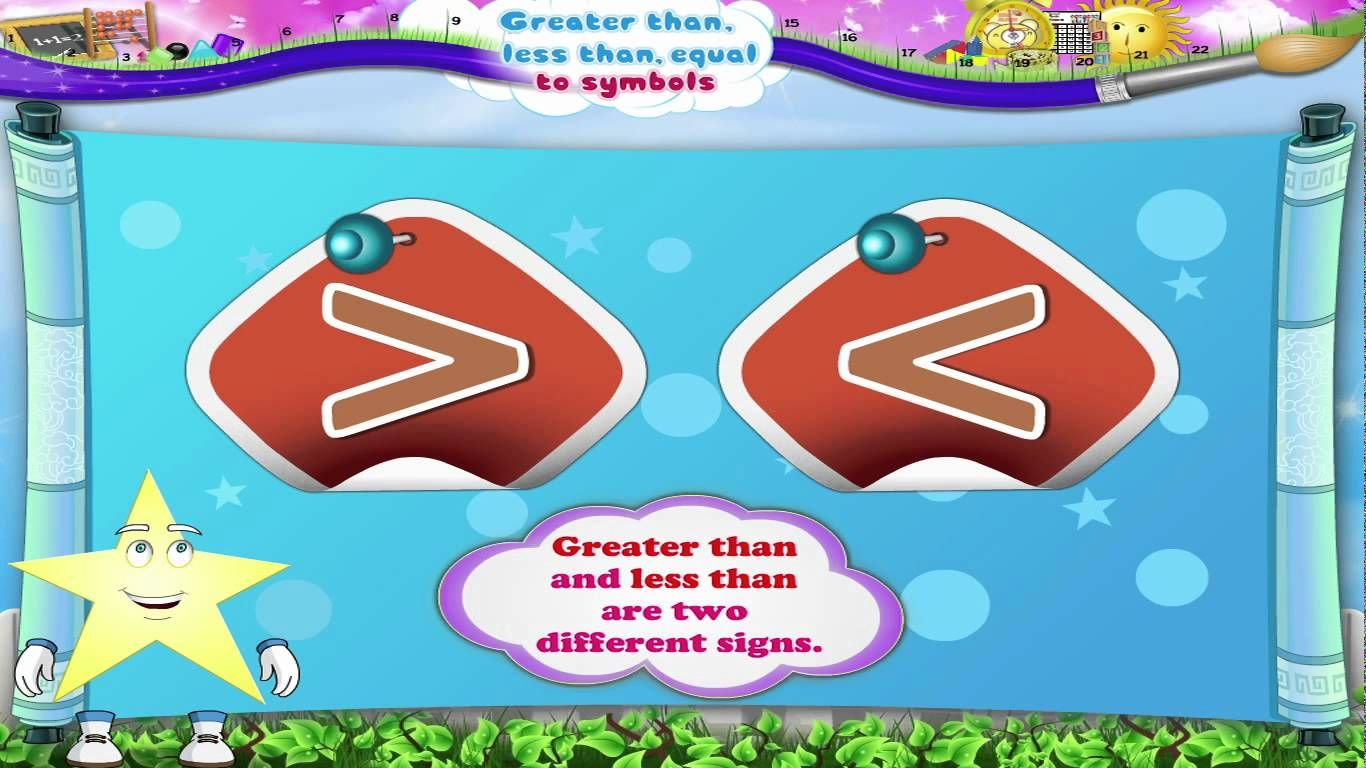 Greater Than Less Than Video Matematika