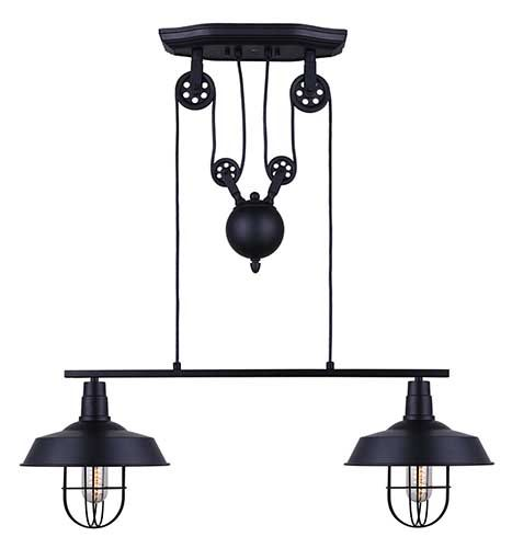 Hanging louka light 2 lights code bmr 050 7053