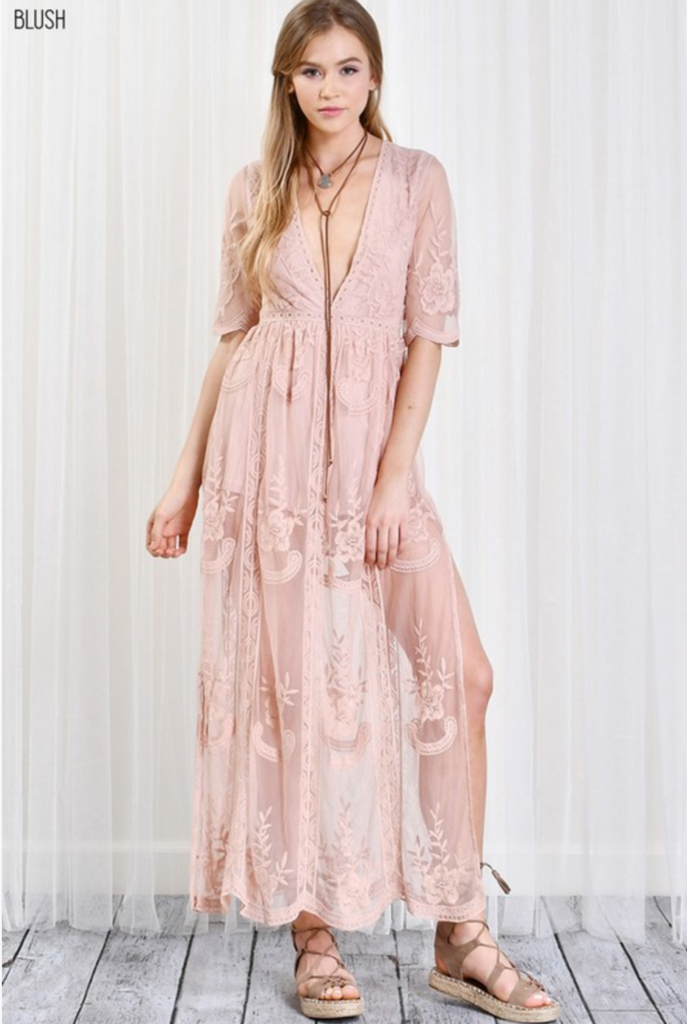 27f19694b57a As you wish embroidered lace maxi dress (women) - more colors in ...