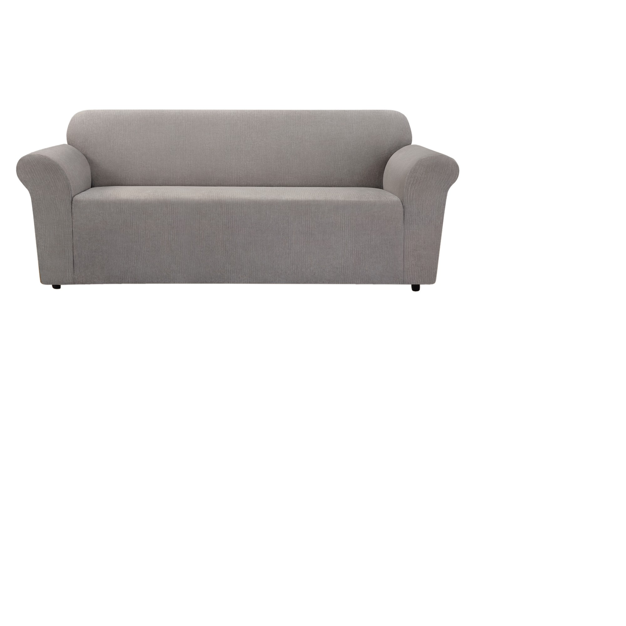 Stretch Chenille Sofa Slipcover Smoke Gray- Sure Fit, Gray in 2019 ...