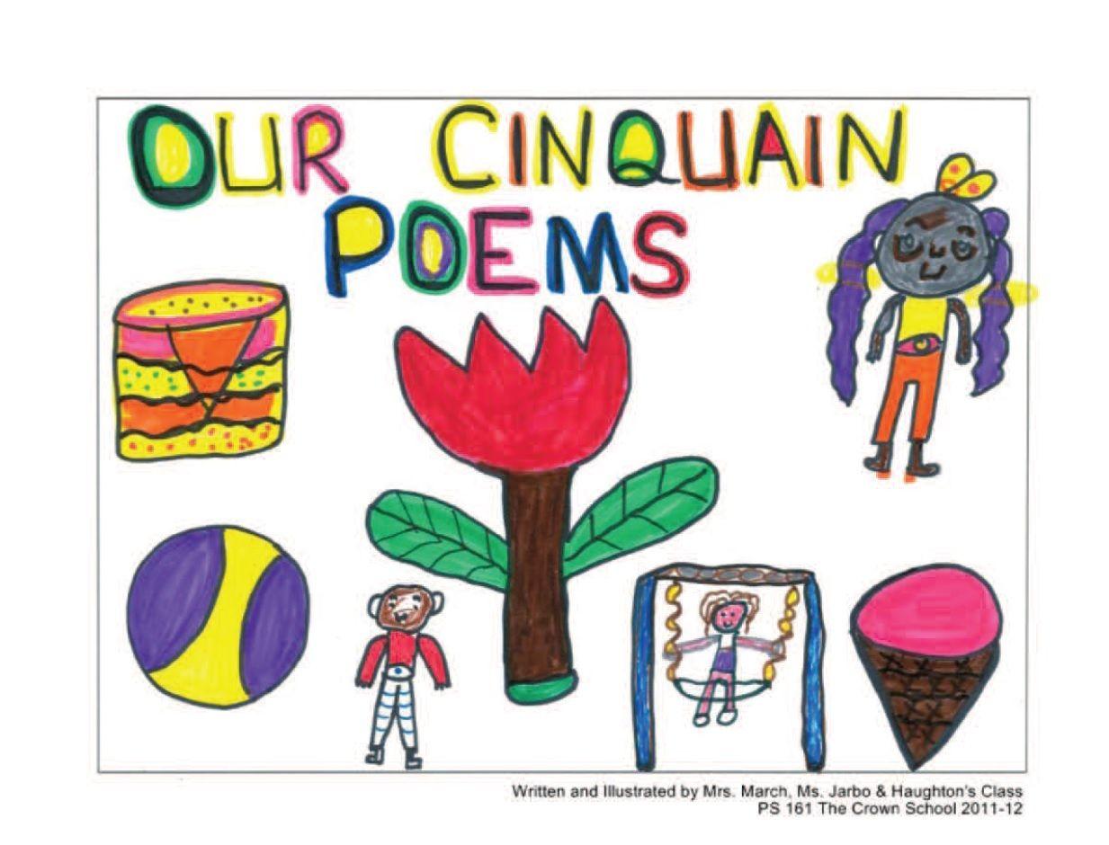 """""""our cinquain poems""""ms jarbo  haughton's class"""