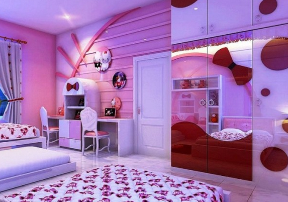 20 Hello Kitty Bedroom Decor Ideas To Make Your Bedroom More Cute Part 21