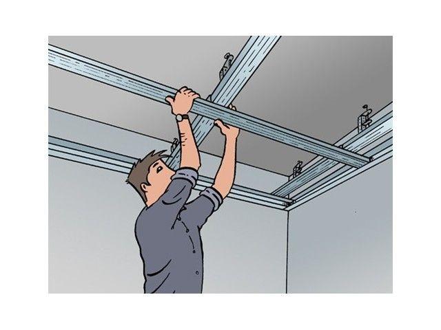 Placer et isoler un faux plafond - Plafond - Livios Salle de bain