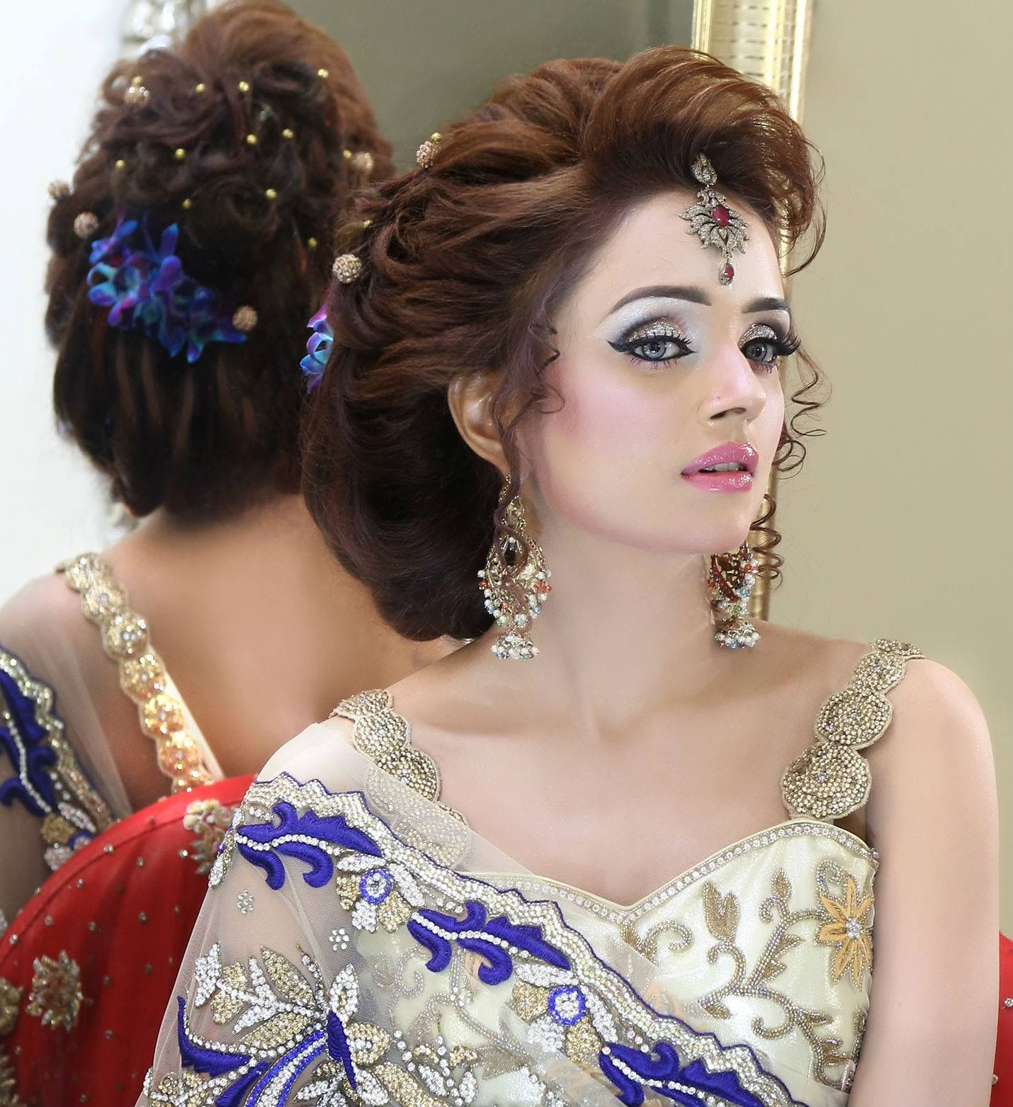 Wedding Hairstyle And Makeup: Pin By EshA AteEq 🇵🇰 On KASHEE's Makeup Expert....