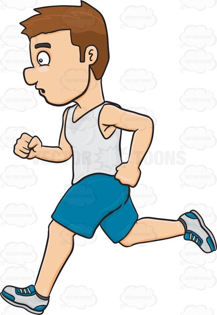 A Man Enjoying A Quick Jog | Jogging