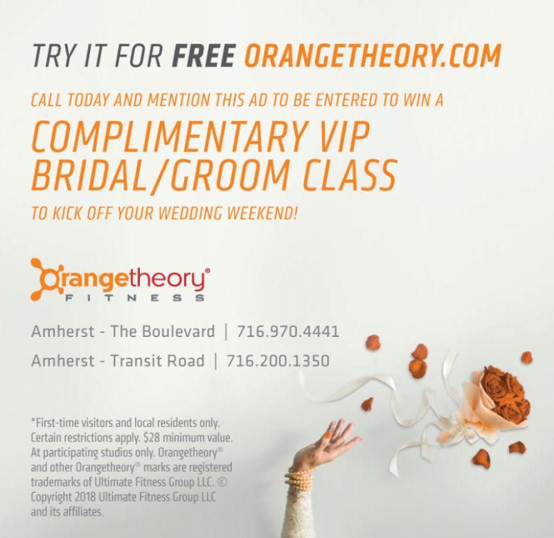 Orangetheory Fitness Buffalo In Buffalo New York Orange Theory Workout Wedding Weekend Bride Inspiration