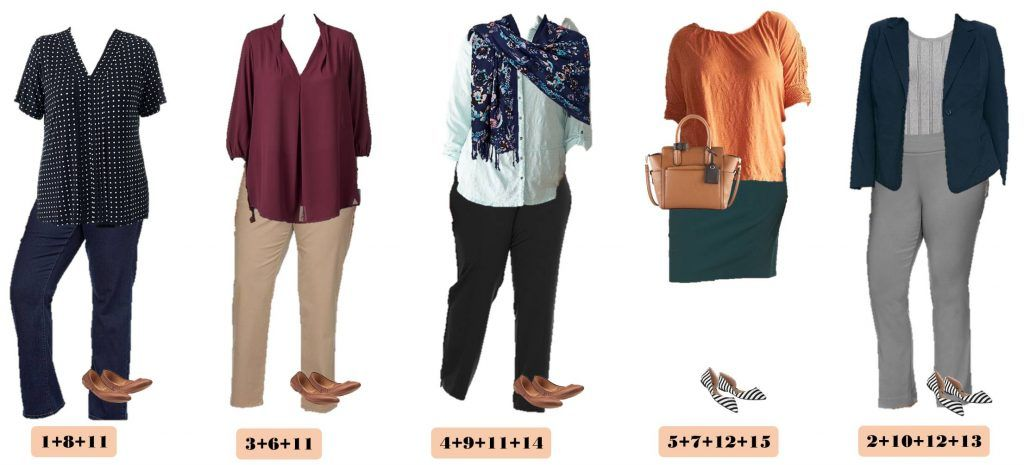 Check Out This Great Plus Size Business Casual Outfit Ideas For Spring From Kohls These Pieces Make 15 Mix Match Outfits That Getting Dressed Easy
