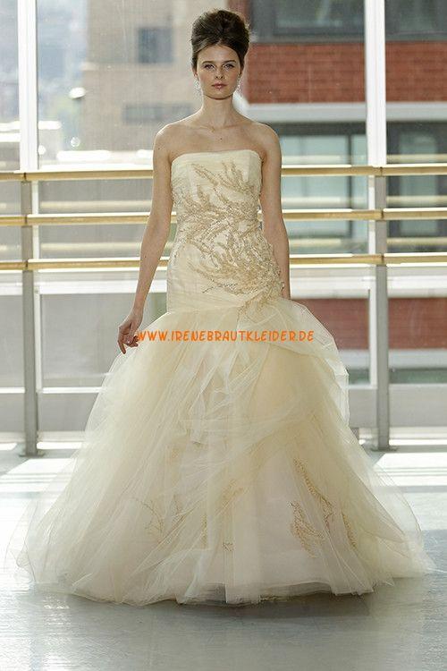 Unique Luxuriöse Brautkleider aus Softnetz | brautkleider Baden ...