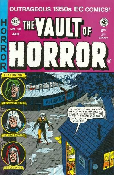 Vault of Horror #10 - One Last Fling!