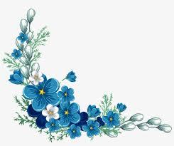 Royal Blue Roses Border Png Free Royal Blue Roses Border Png Transparent Images 89481 Pngio In 2020 Blue Flower Painting Blue Flower Tattoos Flower Painting