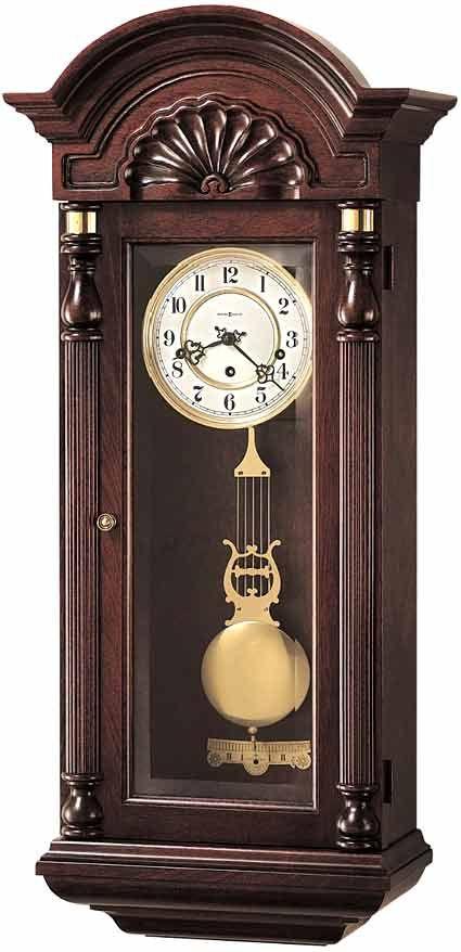 Howard Miller Pendulum Wall Clock Model 613 226 With Key Wind Westminster Chime Pendulum Wall Clock Wall Clock Vintage Wall Clock