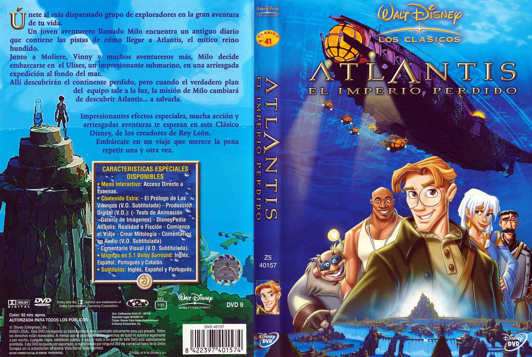 ATLANTIS: EL IMPERIO PERDIDO (2001) LATINO MEGA