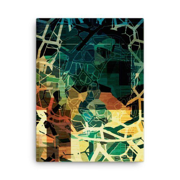 Canvas print vortex
