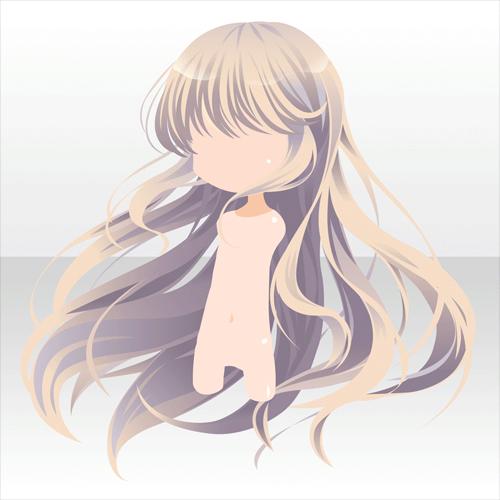 blonde flowing hair sleeping