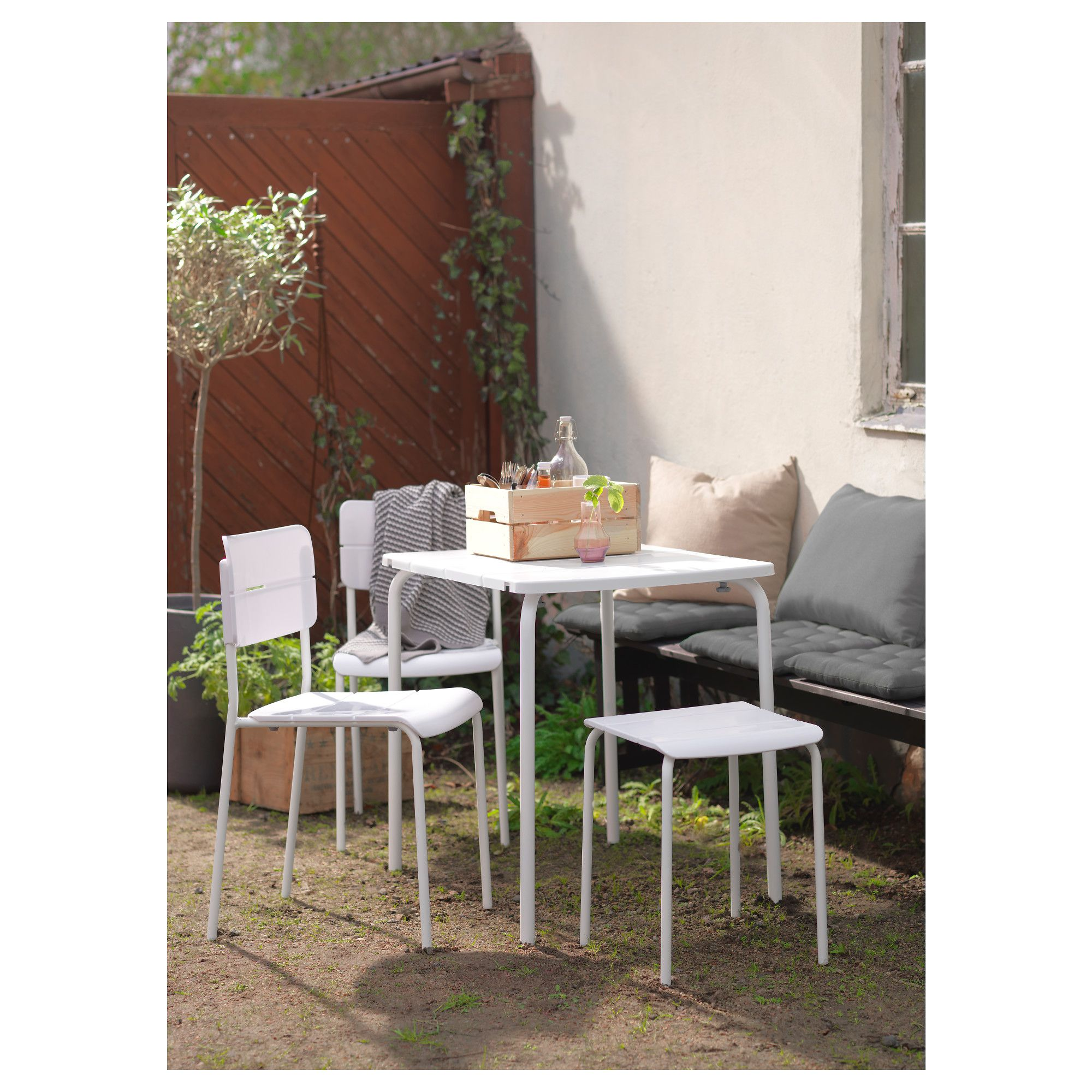 Ikea Väddö Table Outdoor White Products Ikea Outdoor