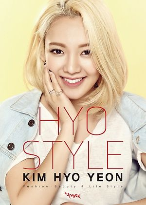 Image result for hyoyeon snsd hyo style