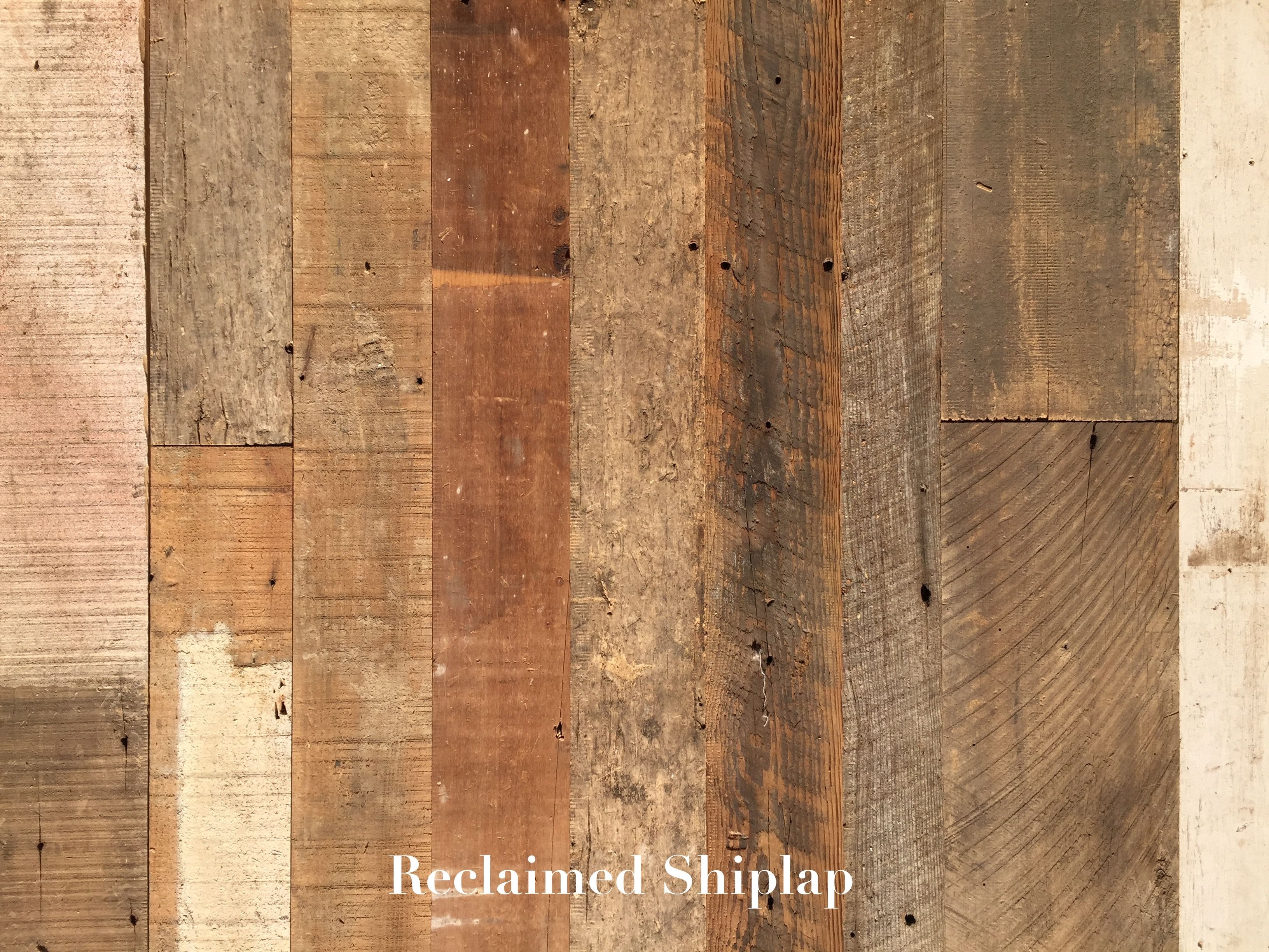Reclaimed Shiplap Paneling / Cladding 7.99/sf Samples