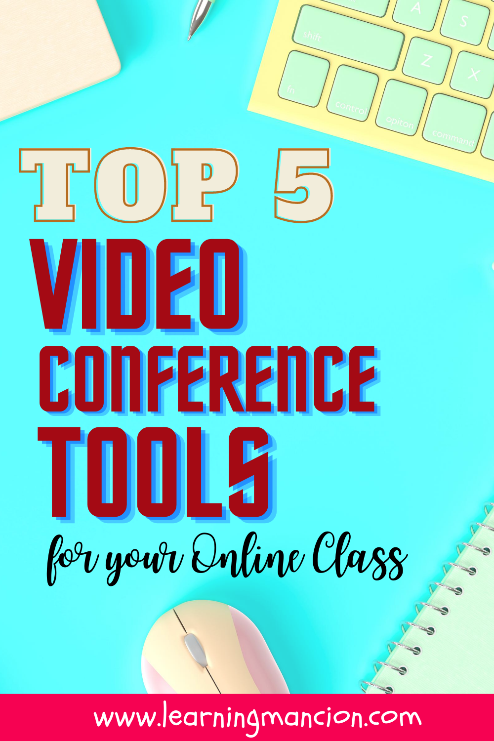 As online classes become the most viable option for our students, we need to ensure that the platform for virtual education is reliable and effective. Here are 5 of the best video conference tools that you can choose from for your virtual classroom instructions. #onlineclass #videoconference #onlinemeeting #onlinelearning #educationtechnology #teachingresources