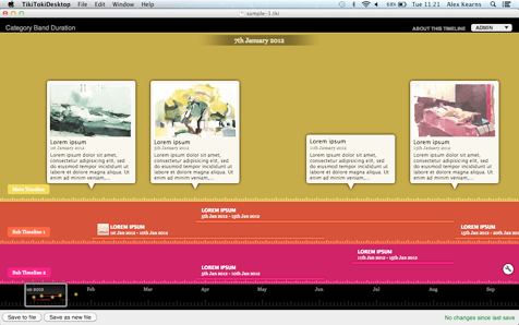 Desktop Timeline Software For Mac Osx Windows And Chromebooks Timeline Software Interactive Timeline Osx