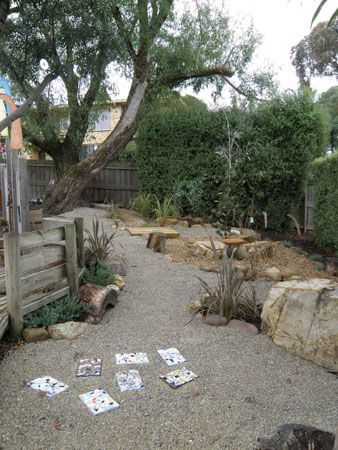 Playscape Idea Desert Landscaping Backyard Outdoor Playscapes