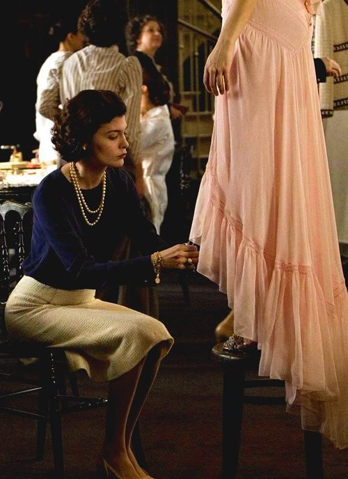 Audrey Tautou in Coco Before Chanel.